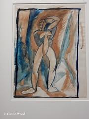 Paris - Musée d'Orsay (Fontaines de Rome) Tags: paris musée orsay exposition modèle noir géricault matisse etude nu debout pablo picasso