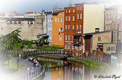Bydgoszcz Venice Poland (elzbietafazel) Tags: bydgoszcz venice architecture buildings bridge river redbrick city town cityscape canal old travel atraction landmarks poland historic water reflections tourism moody bydgoskawenecja oldtown