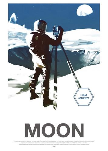 21-Affiche // 50x70 // Moon