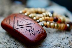 Wood on Driftwood (helensaarinen) Tags: madeofwood macromondays