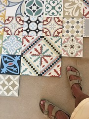 Tiles for the terrace
