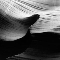 In Canyons 368 (noahbw) Tags: az antelopecanyon arizona d5000 lowerantelopecanyon nikon abstract blackwhite blackandwhite bw canyon desert erosion light lowlight monochrome natural noahbw quiet rock shadow slotcanyon spring square still stillness stone