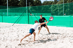 """Starptautiskais pludmales tenisa turnīrs amatieriem """"Liepāja Open"""" 2019, 2.diena (28.07.) Foto: Mārtiņš Vējš"""