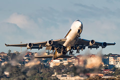 9V-SFI Singapore Airlines Cargo Boeing 747-412F(SCN) RWY25 Sydney Airport SYD/YSSY 13/7/2019 (TonyJ86) Tags: 9vsfi singaporeairlines singaporeairlinescargo sqsia boeing 747 b744 b744f b747 747400 747400f 747412f widebody quadjet aircraft aviation airliner airplane aeroplane plane cargo freight freighter jet jetliner jetaircraft jetplane international departure takeoff rotate flight fly airport syd yssy sydneyairport sydneykingsfordsmith sydney nsw newsouthwales australia planespotting avporn aviationporn avgeek travel nikon d750 nikond750 vehicle outdoor aviationphotography tamronsp150600mmf563divcusdg2 tamron