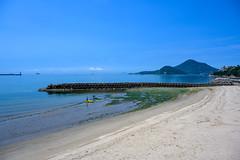 summer beach (Hideki-I) Tags: landscape nature beach summer sand nikon z7 2470 matsuyama ehime japan 日本 愛媛 松山 自然 浜辺 瀬戸内海 setonaikai 海岸 coast shore