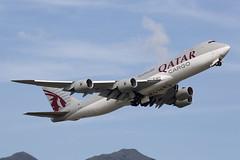 Qatar Airways Cargo | Boeing | 747-87UF | A7-BGB | Hong Kong International (Chek Lap Kok) Airport | Hong Kong (TFG Lau) Tags: vhhh hkia hkg hongkong hongkonginternationalairport haeco airplane aeroplane aircraft aviation plane planespotting spotting canon canoneos eos canon5dmarkiii eos5dmarkiii ahkgap qatarairways qatarairwayscargo qr qac boeing boeing747 b747 b747f b748f a7bgb cargoplane cargojet