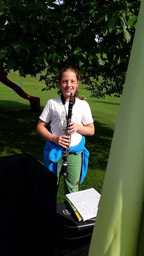 Musikalische Klänge am Hof