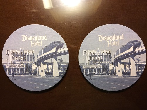 Disneyland Hotel Coasters