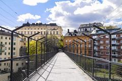 Bridge to Katarinahissen (Slussen) in Stockholm, Sweden 11/5 2017. (photoola) Tags: stockholm slussen katarinahissen bridge bro sweden photoola