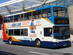 Stagecoach ADL Trident (ADL ALX400) 18410 KX06 JYB (Alex S. Transport Photography) Tags: bus outdoor road vehicle stagecoach stagecoachmidlandred stagecoachmidlands alx400 alexanderalx400 dennistrident trident route14 18410 kx06jyb