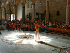 Summer Solstice (vmoska) Tags: bari photo italy summer summersolstice streetphotography cathedral puglia church photography photographer girl woman people lights