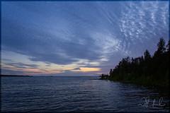 a cumulation of cloud (D J England) Tags: ontario brucepeninsula lakehuron haybay dje djengland djenglandphotography douglasjengland canoneos5dmkiii sigma24105mmf4dgoshsma sunset lake reflection water clouds horizon tobermory southernontario