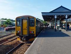 150265 Par (2) (Marky7890) Tags: gwr 150265 class150 sprinter 2n09 par railway cornwall cornishmainline train