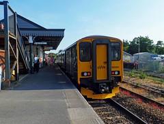 150265 Par (1) (Marky7890) Tags: gwr 150265 class150 sprinter 2n09 par railway cornwall cornishmainline train