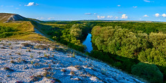 The hills on the banks of the river Oskol (basma4ru) Tags: russia volokonovka oskol river panorama sigma 30mm sony a6000 ilce6000 hill