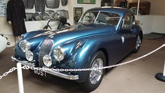 Jaguar XK120 (1951), Moray Motor Museum, Elgin, June 2019 (allanmaciver) Tags: jaguar xk120 1951 style classic car elgin moray motor museum colour smart allanmaciver