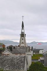 Hammerfest kirke (Brian Aslak) Tags: hammerfestkirke hammerfestchurch girku kirke church kirik igreja église hammerfest hámmárfeasta finnmárku nordnorge kvaløya fálá davvinorga norge norga norway scandinavia europe arctic town north finnmark