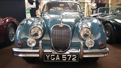 Jaguar XK150 (1959), Moray Motor Museum, Elgin, June 2019 (allanmaciver) Tags: jaguar xk150 range 1959 smart classic vehicle elgin moray motor museum allanmaciver