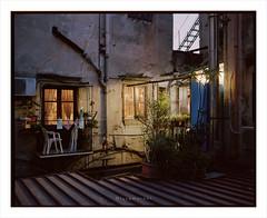 Urban 36 (Luca Moroni) Tags: palermo italy europe night urban houses color pentax 67 6x7 120 mediumformat film ishootfilm filmisnotdead 105mm kodak portra160 160asa takumar