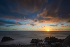 Last glimpse of light (Rico the noob) Tags: dof rock landscape sunset nature d500 outdoor madeira stones sea sun beach ocean rocks published longexposure 2017 sky 1120mm water coast clouds 1120mmf28