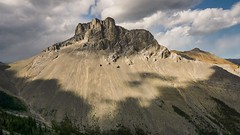 Mount Remus (Somewhere in the Mountains) Tags: shadows canada alberta hiking landscape nature mountains