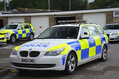 WX10 CMO (S11 AUN) Tags: avon somerset police bmw 530d 5series estate touring anpr traffic car rpu roads policing unit 999 emergency vehicle triforce wx10cmo