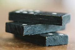 Made of wood (Inka56) Tags: domino wood madeofwood macromondays