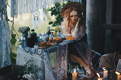 country house I (AzureFantoccini) Tags: bjd doll abjd diorama dollhouse dollroom granado ozin5 emon balljointeddoll miniature stilllife food summer countryside