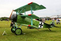 "F-AZVD / ""525/17"" La Ferte Alais 09/06/19 (Andy Vass Aviation) Tags: lafertealais fokkerdr1 fazvd 52517"