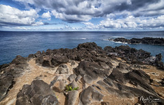 Far away... (marko.erman) Tags: easterisland rapanui faraway isolated pacificocean sony travel outdoor outside horizon sea water sky clouds blue