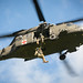 HH-60 Black Hawk helicopter pilots and flight crew provide aviation support