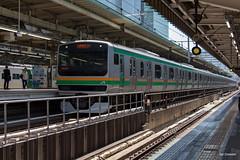 Tokyo (Jan Dreesen) Tags: japan japon tokyo tokio chiyoda city marunouchi district central train station jr east railways uenotokyo line emu