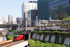 Tokyo (Jan Dreesen) Tags: japan japon tokyo tokio city kanda river ochanomizu station jr railway train subway metro marunouchi line