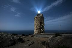 _DSC6895 (fjsmalaga) Tags: bolonia mar faro ngc escalera estrellas noche nocturna luz