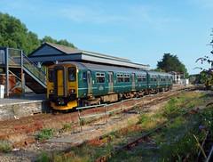 150265 Par (3) (Marky7890) Tags: gwr 150265 class150 sprinter 2n09 par railway cornwall cornishmainline train