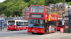 Bute Buses (busmanscotland) Tags: 19906 v530esc k400wcm 11207 yx61emk 10607 yj06ldv j20wcm west coast motors yx61 emk yj06 ldv j20 wcm craig campbeltown dennis trident plaxton president ad enviro 200 enviro200 vdl sb120 centro