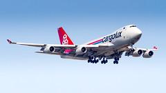 Boeing 747-4R7F LX-VCV Cargolux Airlines International (William Musculus) Tags: paris charles de gaulle cdg lfpg roissy roissyenfrance spotting airport aviation plane airplane william musculus lxvcv cargolux airlines international boeing 7474r7f cv clx 747400f cargo