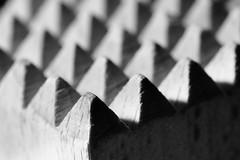 Tenderizer (kwphotos.com) Tags: madeofwood wood tenderizer meat grain texture shadows light pattern hmm fuji 80mm macromondays macro peaks mountains black white monochrome bw blackandwhite