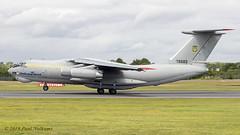 76683 Il-76MD Ukraine Air Force (Anhedral) Tags: 76683 ilyushin il76 il76md ukraineairforce takeoff transport riat2019 raffairford