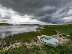 Storm Clouds Over Loch a' Bhaile, Isle of Lewis (Craig Hannah) Tags: isleoflewis lewis outerhebrides scotland loch clouds craighannah storm july 2019 landscape beautifulworld canon photography photos westcoast uk reflection summer roadtrip boats fishing