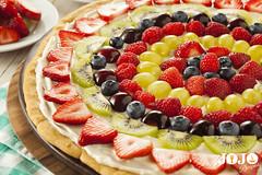 Fruit Pizza Recipe (jojorecipes) Tags: fruitpizza food foodideas snacks recipes italianfood cook cooking yummy tasty jojorecipes
