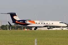 N551VL (GH@BHD) Tags: n551vl gulfstream g550 indoramacorp londonstanstedairport gulfstreamaerospace g5 guv stn egss stanstedairport stansted bizjet corporate executive aircraft aviation vip