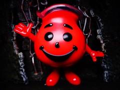 Kool-Aid Man (ridureyu1) Tags: koolaidman funko pop funkopop bobblehead mysterymini toy toys actionfigure toyphotography sonycybershotsonycybershotdscw690