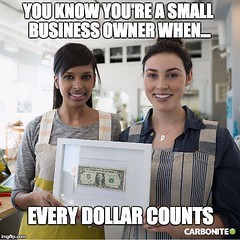 Every dollar counts. That's why we provide #smallbusiness owners with #socialmedia management at an affordable rate. Save 10% when you mention that you found us on Instagram! Tap on our profile for details. . . . #socialmediamanagement #socialmediamarketi (bonvistomedia) Tags: every dollar counts that's why we provide smallbusiness owners with socialmedia management an affordable rate save 10 when you mention that found us instagram tap our profile for details socialmediamanagement socialmediamarketing businessowner savemoney discount discountcode business marketing sidehustle smallbiz money ceo founder girlboss bossbabe meme by carbonite