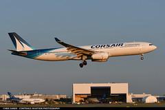 Corsair A333 FHZEN (Sandsman83) Tags: montreal cyul yul airplane aircraft plane airbus a330 landing corsair fhzen