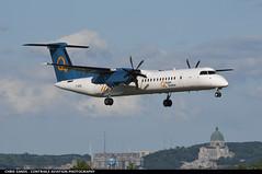 Hydro Quebec DH8D CGHQL (Sandsman83) Tags: montreal cyul yul airplane aircraft plane hydro quebec bombardier dash 8 landing cghql