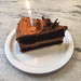 Birthday Chocolate Cake at Gjusta - Venice Beach, California