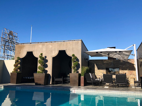 Rooftop Pool at The Broadway Hollywood Building - Hollywood, CA
