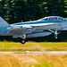PANNING AN EA-18G ABOUT TO LAND AT OLF
