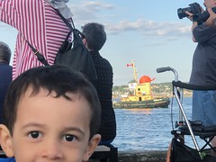 Ezra and Theodore Too (brownpau) Tags: iphonex cunard cruise ship theodoretoo tugboat canada novascotia halifax halifaxharbour ezra ezraordo